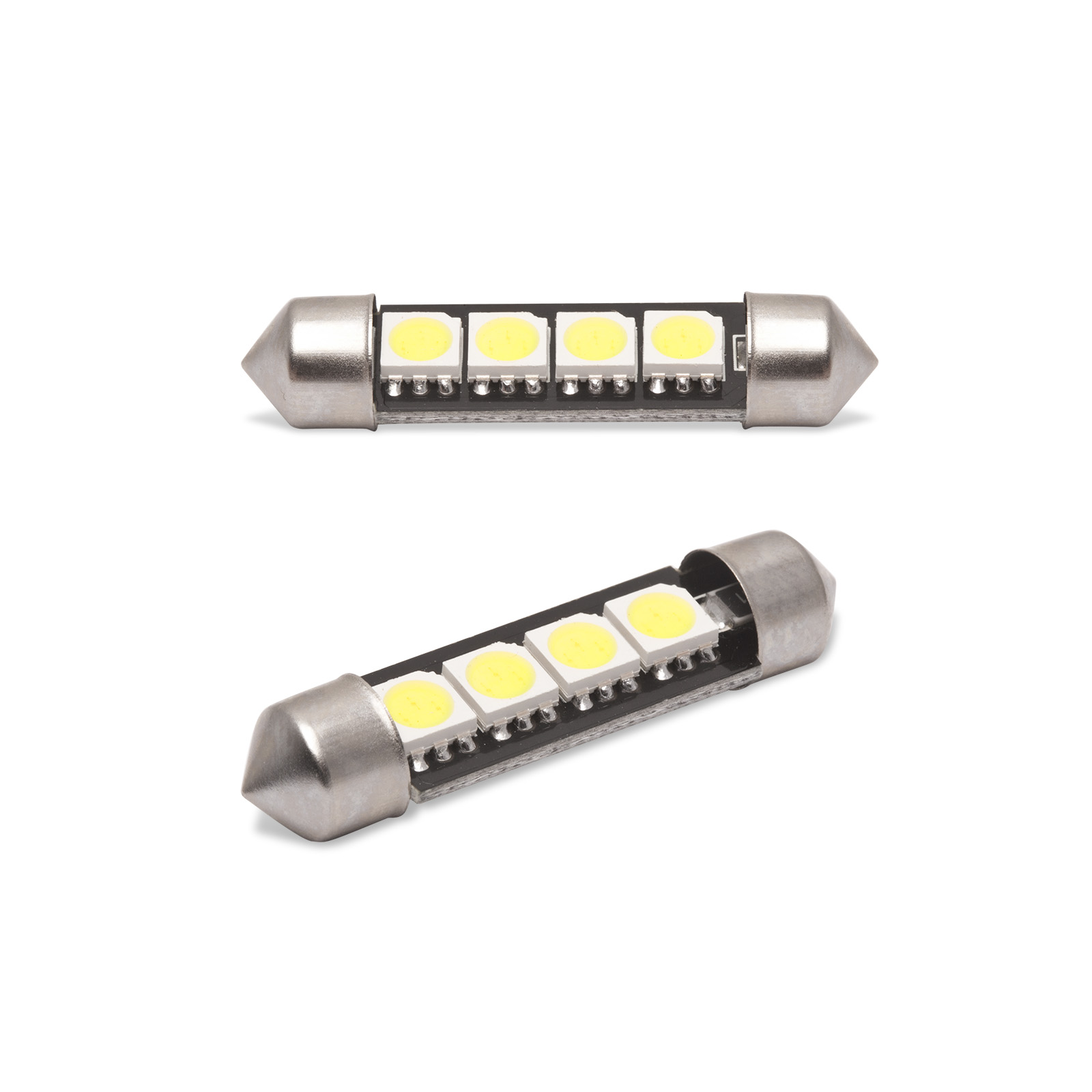 LED izzó CAN106 Canbus 3W SOF39 mm 2 db - 50957
