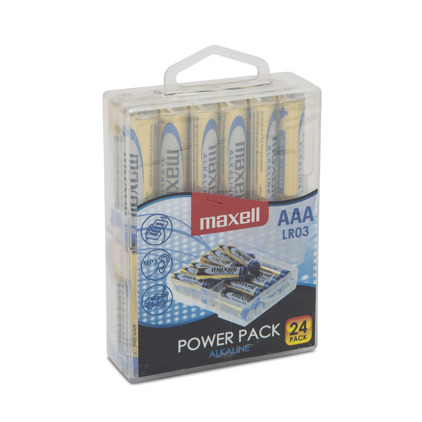Mikroceruza elem 1,5V • AAA • LR3 power pack 24 db - 18721P